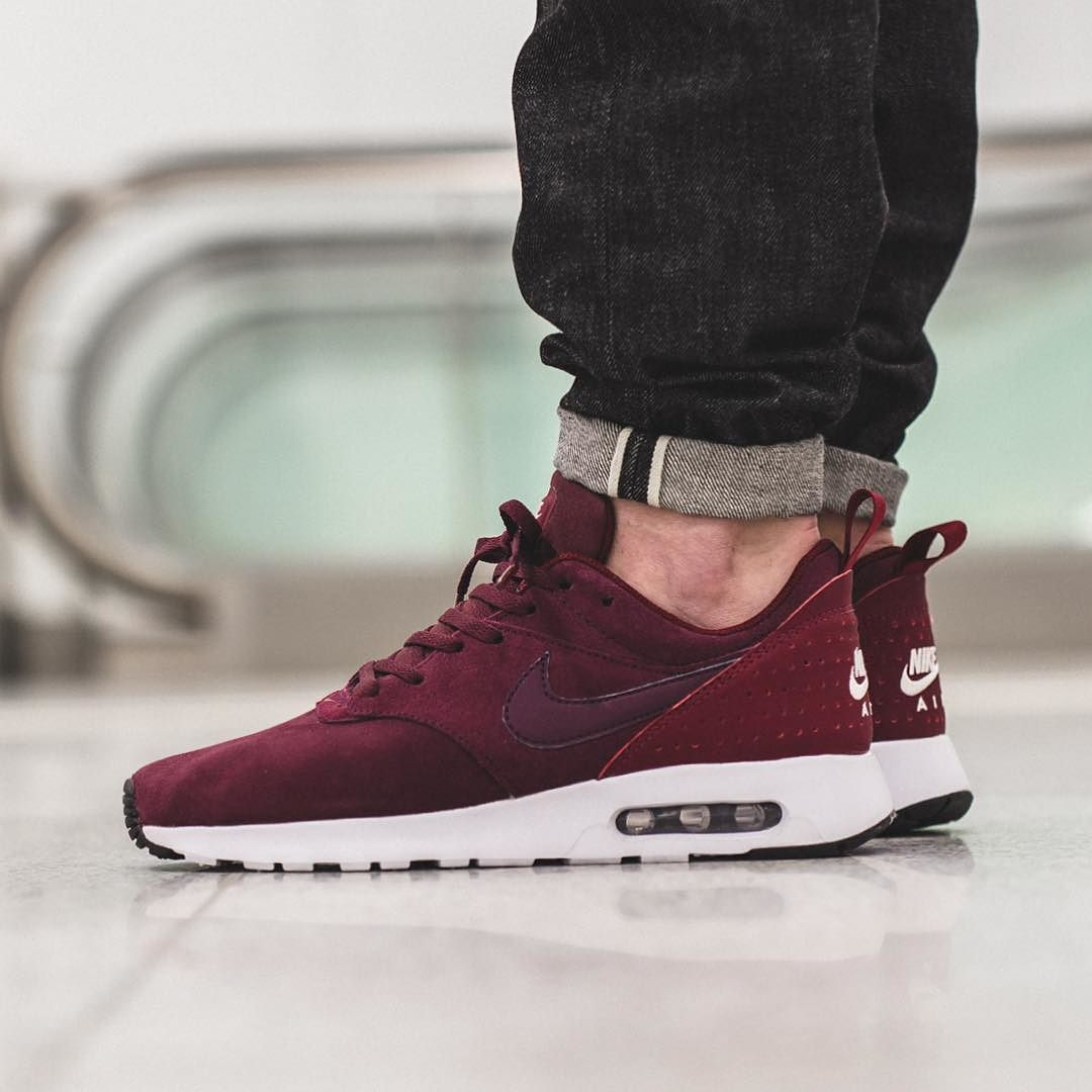 online store e3a6e de11f NEW IN! Nike Air Max Tavas Leather - Night Maroon Night Maroon available  now in-store and online  titoloshop Berne   Zurich by titoloshop