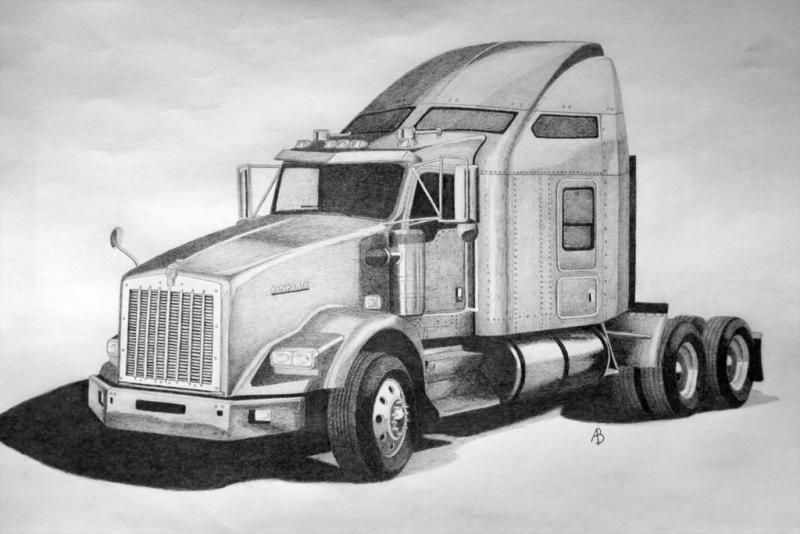 Pin By Siarhei On Coloring Pages For Us Big Kids In 2021 Truck Art Trucks Kenworth