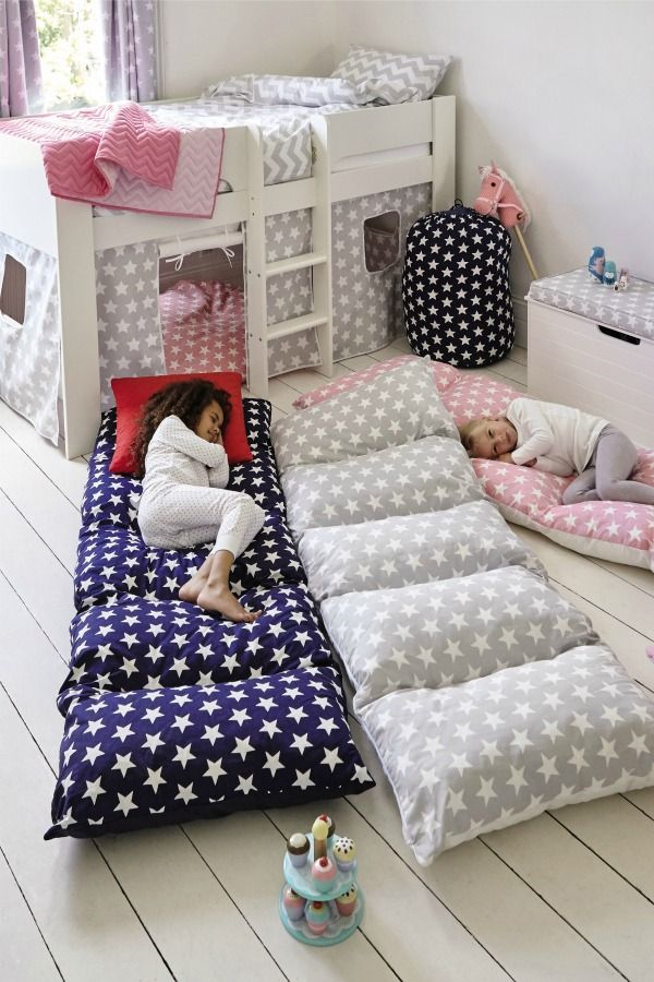 The best sleepover solution just roll out this cosy
