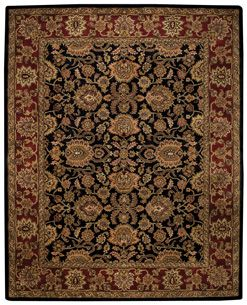 Regal Persian Black Rugs Capel