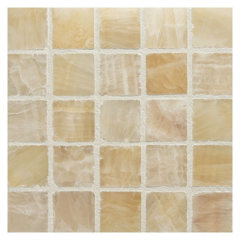 Complete Tile Collection 1 Square Mosaic In Miele De Oro Light Polished Mi 111 S2 400 623 Mosaictiles Floortiles Walltiles Mosaic Mosaic Tiles Onyx