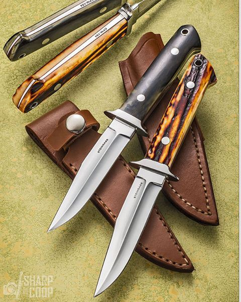 Mammoth Ivory and Sambar Stag New Orleans Specials | Awesome Blades