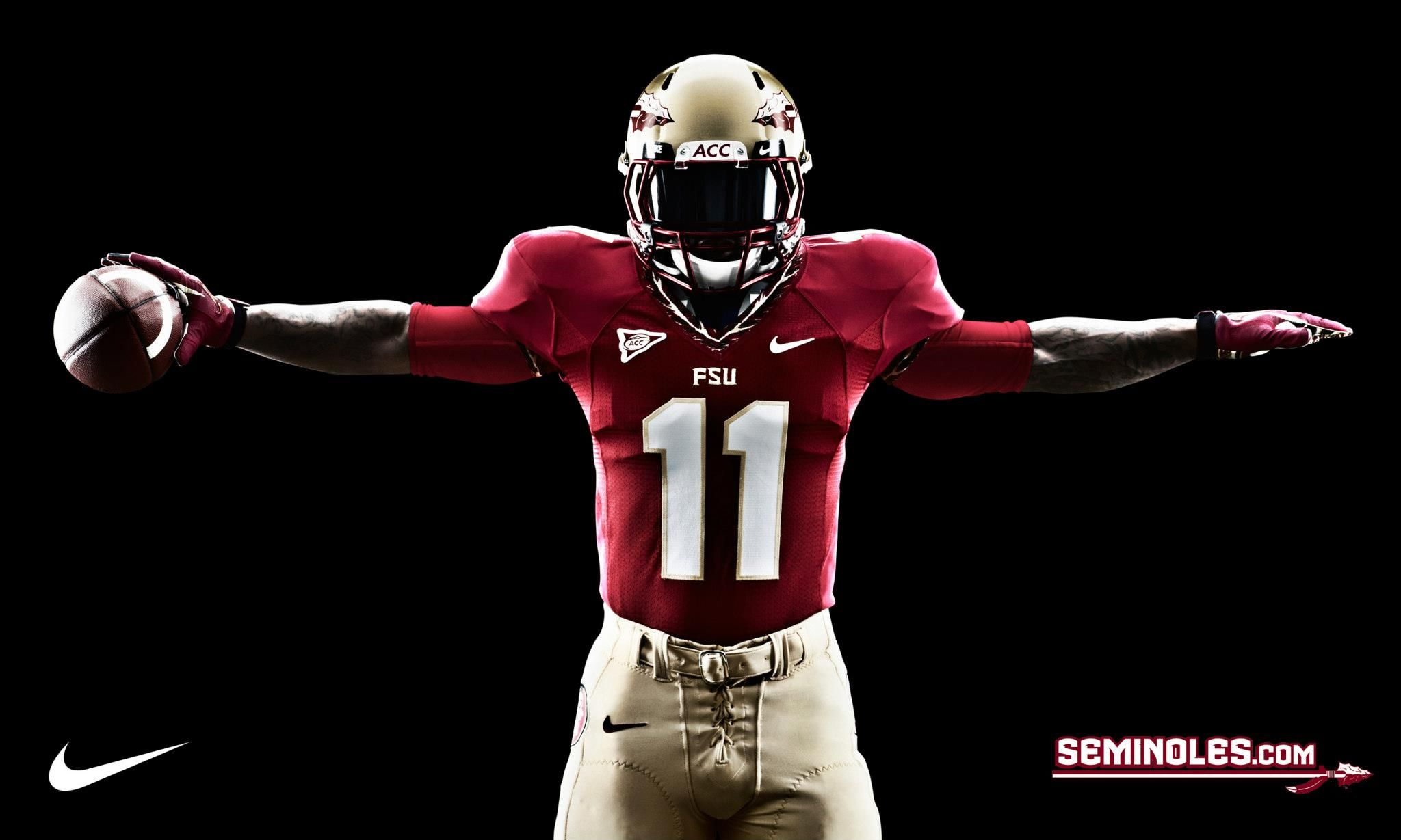Fsu Football Logo Nike Fsu Florida State Football Uniform Wallpaper Www Wallpepperhd Fsu Football Football Florida State Football