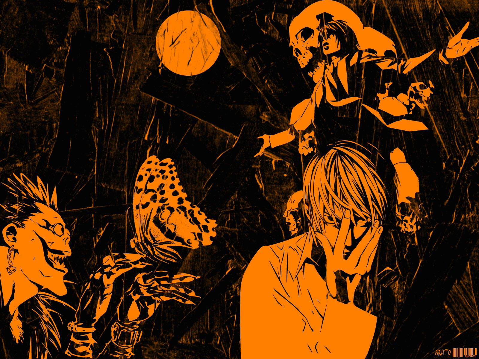 Death Note 壁紙 containing comic book in The DEATH NOTE デスノート Club