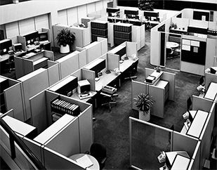 Furniture Design Through The Ages see original image | history of office designs through the ages