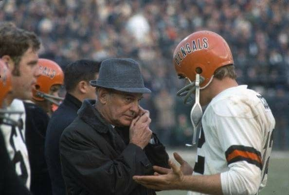 Paul Brown With Greg Cook QB Football CoachesSport FootballVintage