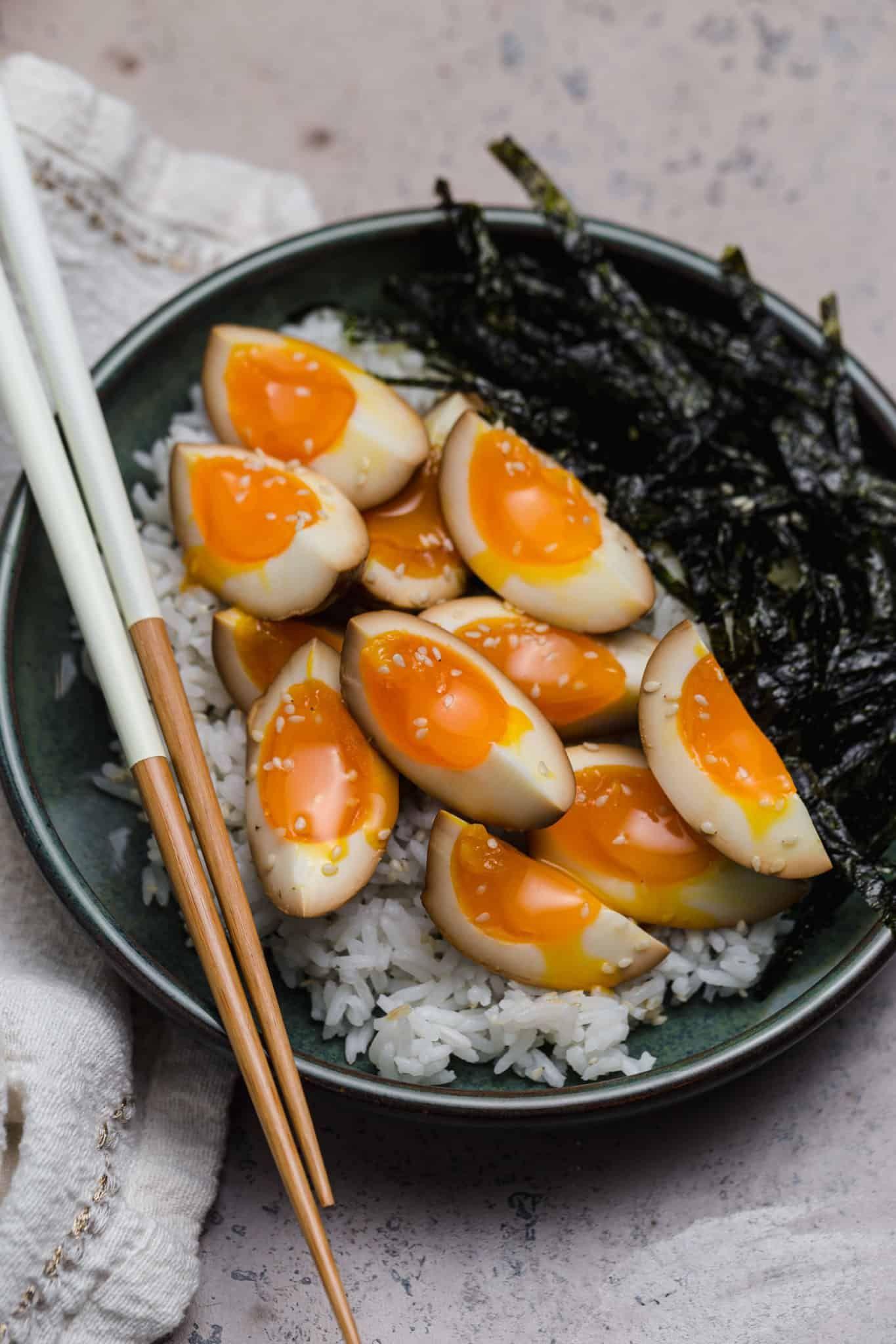 Soy Sauce Eggs (Shoyu Tamago) | wellseasonedstudio