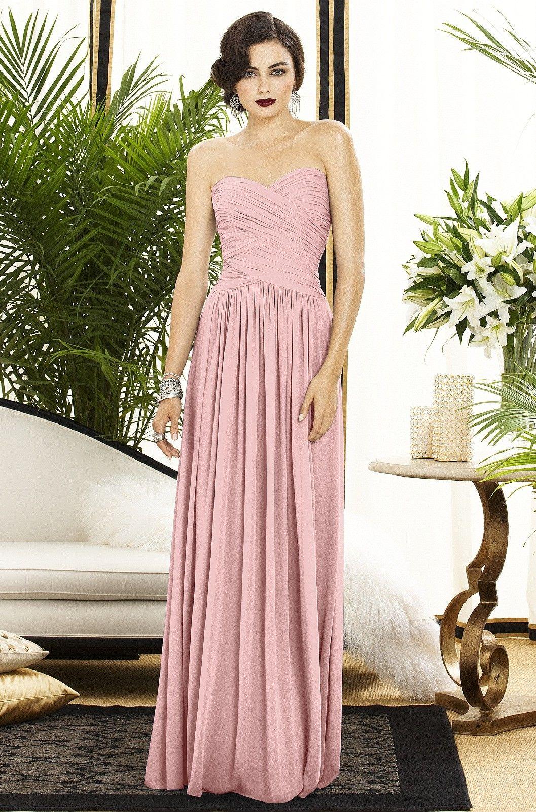 Dessy 2880 Bridesmaid Dress | Weddington Way Color - Rose Fabric ...