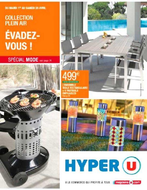 Salon De Jardin Résine Tressée Hyper U - Maison Mobilier Et ...