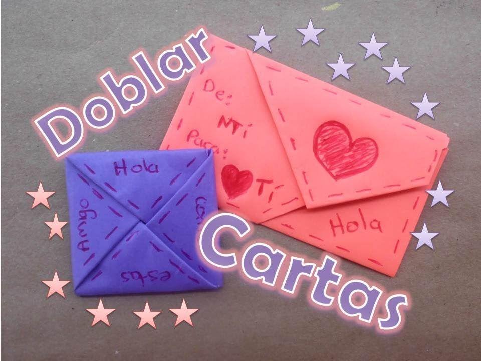 Doblar Cartas De Forma Original Diy Gifts Paper Crafts Crafts