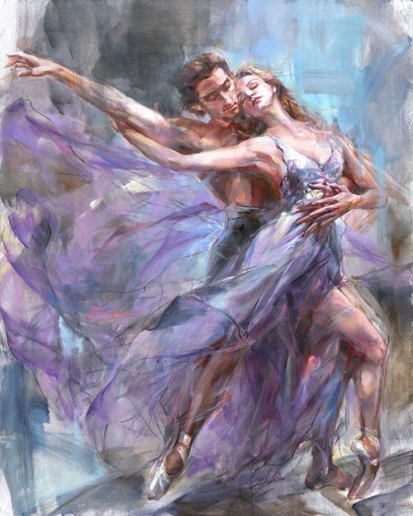 Картинки художников танцы это