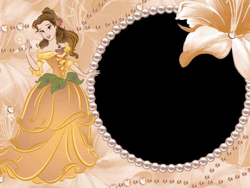 Marco Naranja de Bella y Bestia Disney | Albun famliar | Pinterest ...