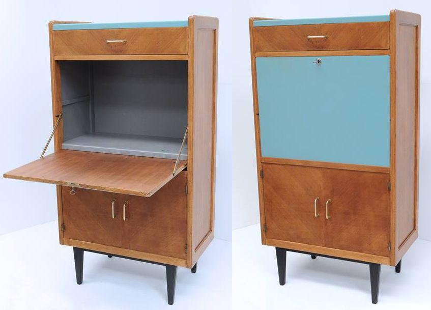 secr taire relook aux couleurs du jour par atelier d 39 co. Black Bedroom Furniture Sets. Home Design Ideas