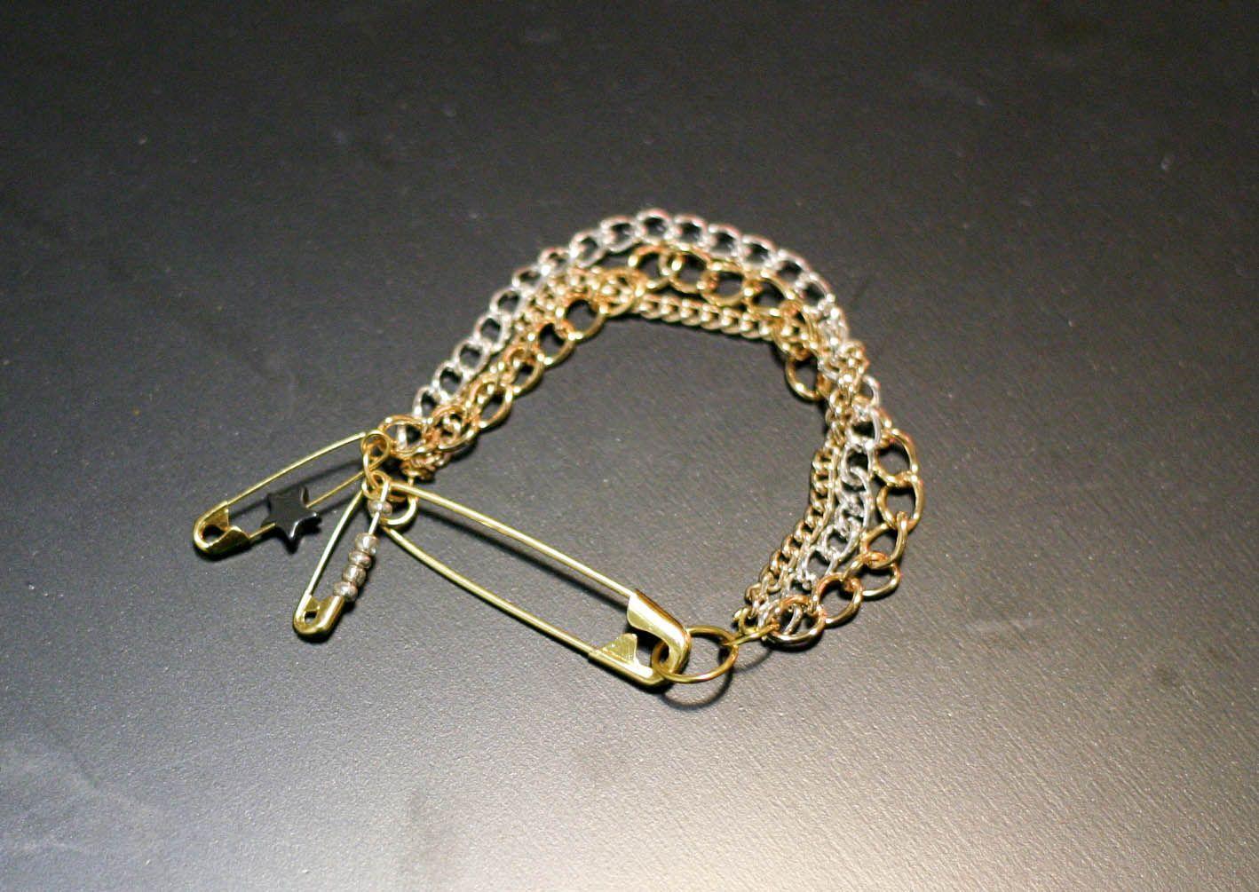 DIY: Armbånd med sikkerhedsnåle
