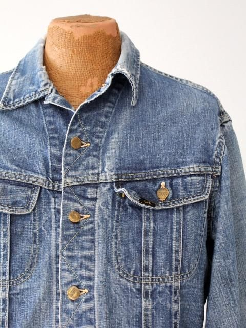 vintage 70s Lee 101-J denim jacket – 86 Vintage