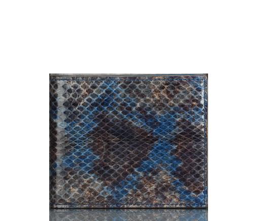 codice promozionale ebe19 303b6 portafoglio bi-fold in pelle di serpente GUCCI | Men Bags ...