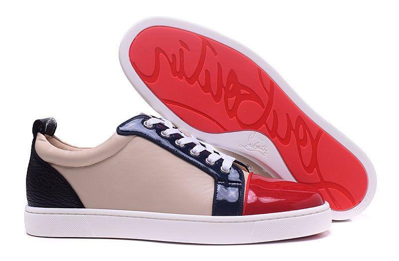 christian louboutin girl sneakers