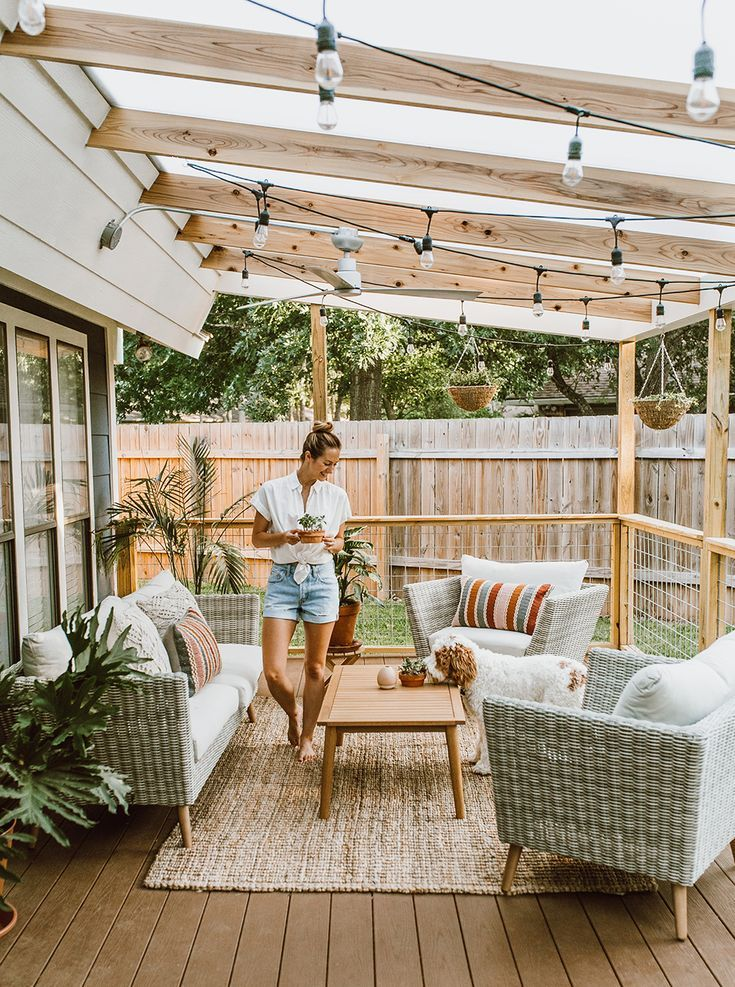 10 Kitchen And Home Decor Items Every 20 Something Needs: Before & After Patio Renovation REVEAL