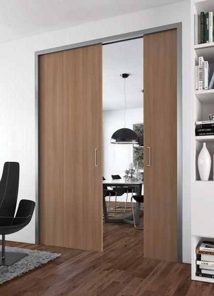 Portes coulissantes placards   dressings   pièces Sogal® Salle de - guide porte coulissante placard