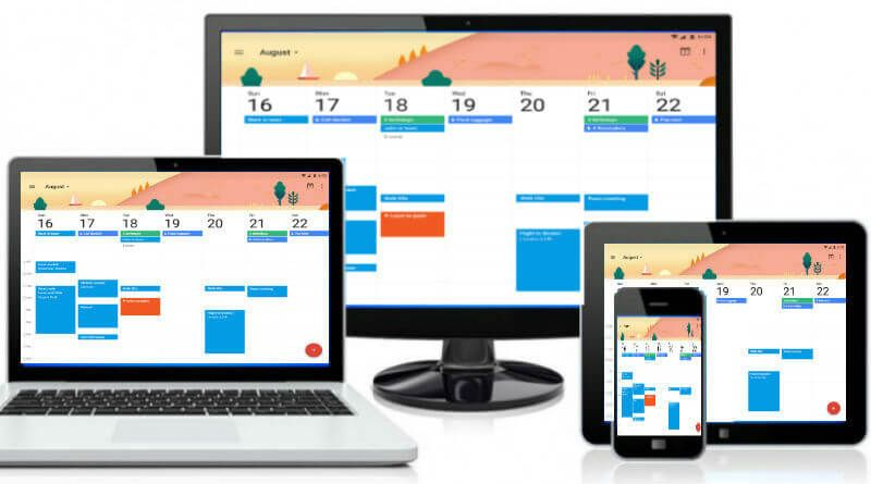 how to share sync common calendar on iphone android pc android