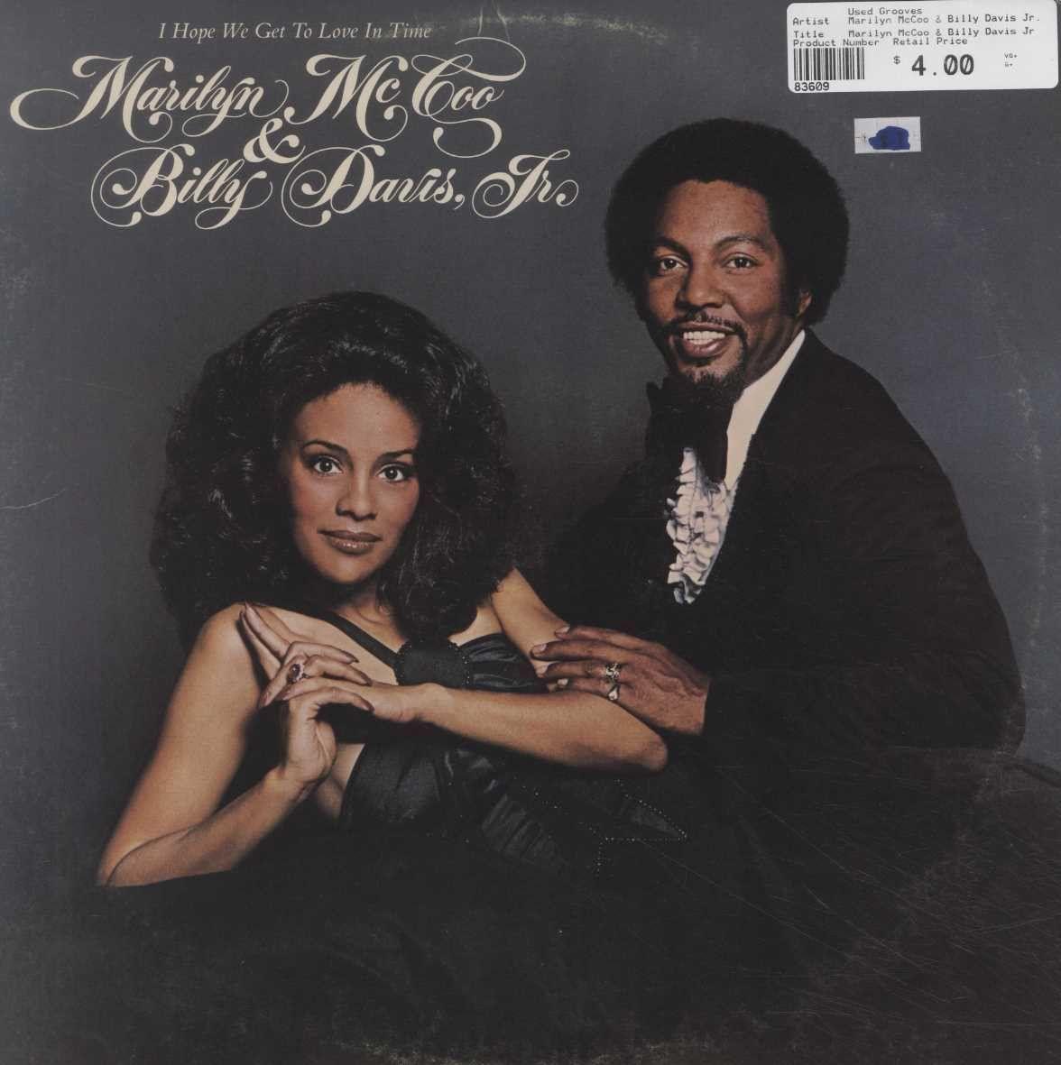 sunday pm marilyn mccoo billy davis jr formerly of marilyn mccoo billy davis jr i hope we get to love in time