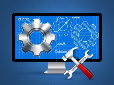 Software Development Icon for new Eleks site | Dream Home