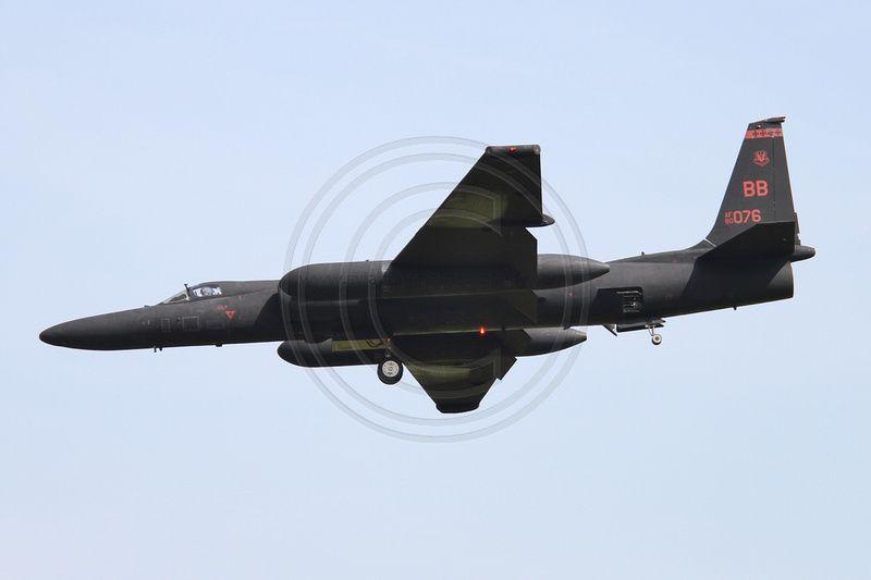 USAF 9 RW 99 RS Lockheed U-2R 80-1076 at RAF Fairford (2013)