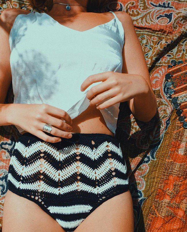 By Beleza | tops tejidos a crochet | Pinterest | Bademode ...