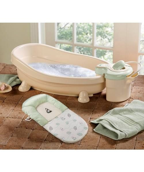 Relax And Bathe Your Baby In The Soothing Spa Shower By Summer Infant