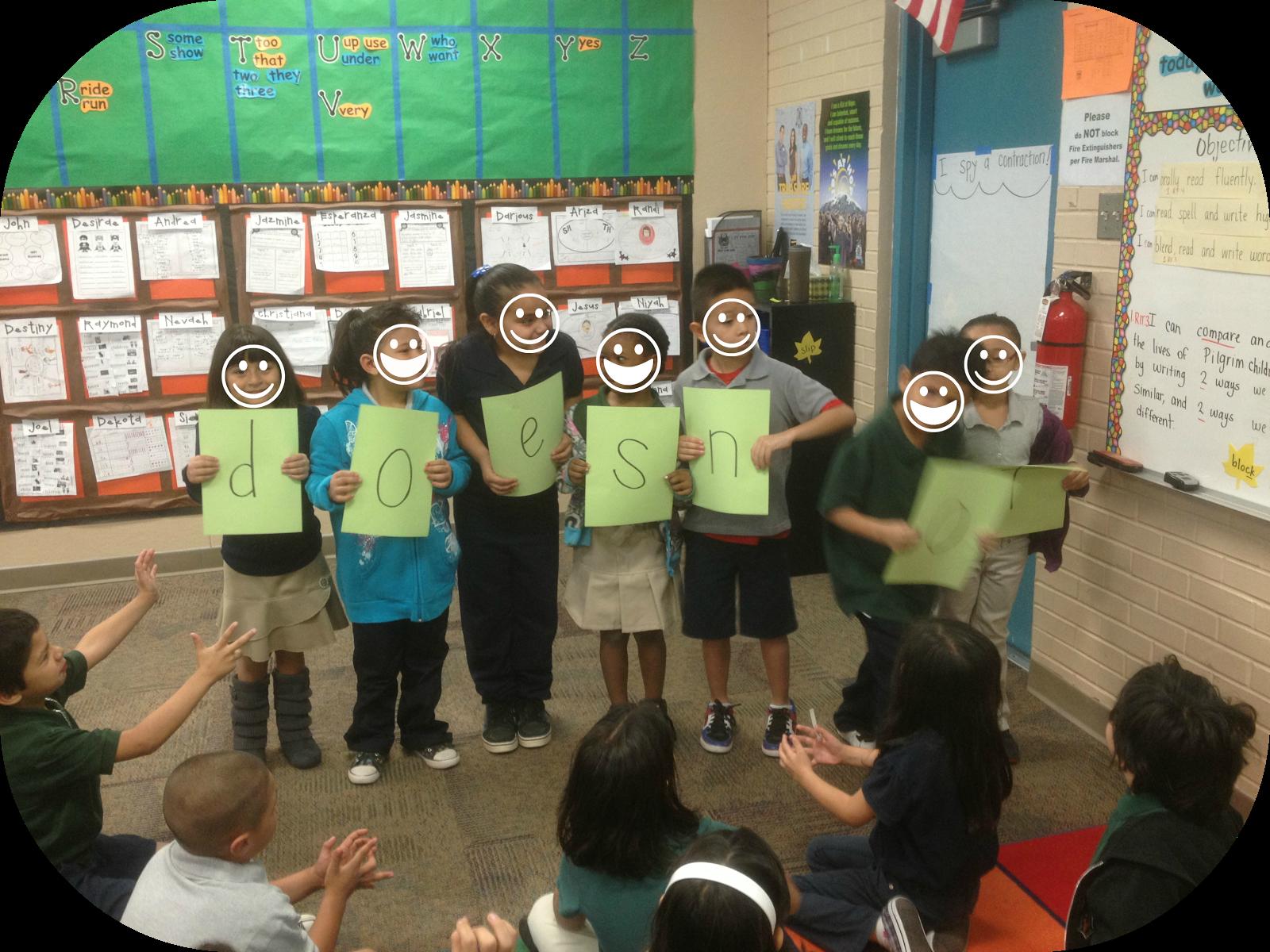 Create a Contraction interactive lesson | K. Almaraz at http://our ...