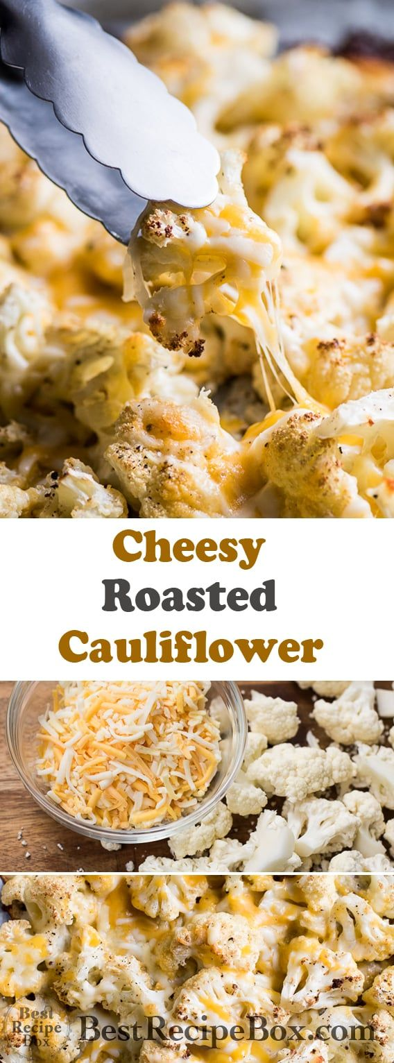 Photo of Roasted Cauliflower Recipe with Cheese