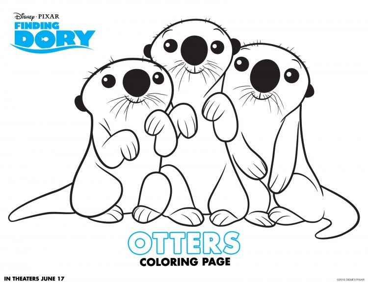 finding nemo coloring page # 27