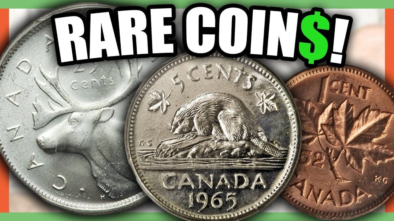 10 EXTREMELY VALUABLE CANADIAN COINS WORTH MONEY - RARE CANADIAN
