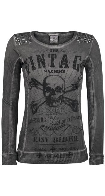 Vocal Vintage Skull Top Emp Clothes Cool Outfits Skull Clothing