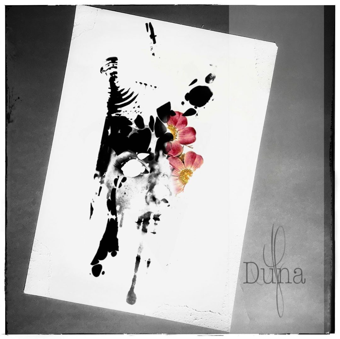 -available tattoo design by @duna_af  Write us if you are interested. • #wannado #availabledesign #tattooinspiration #inked #tattrx #tattoodo #inkjunkeyz #surrealism #abstracttattoo #flowertattoo #sketchtattoo #drawing2me #tattooartmag #tätowiermagazin #inkedlife #newtattoo #naturelovers #flowers #naturetattoo #graphictattoo #dreadgirl #equilattera #girlswithtattoos #saarlandtattoo #tattooart