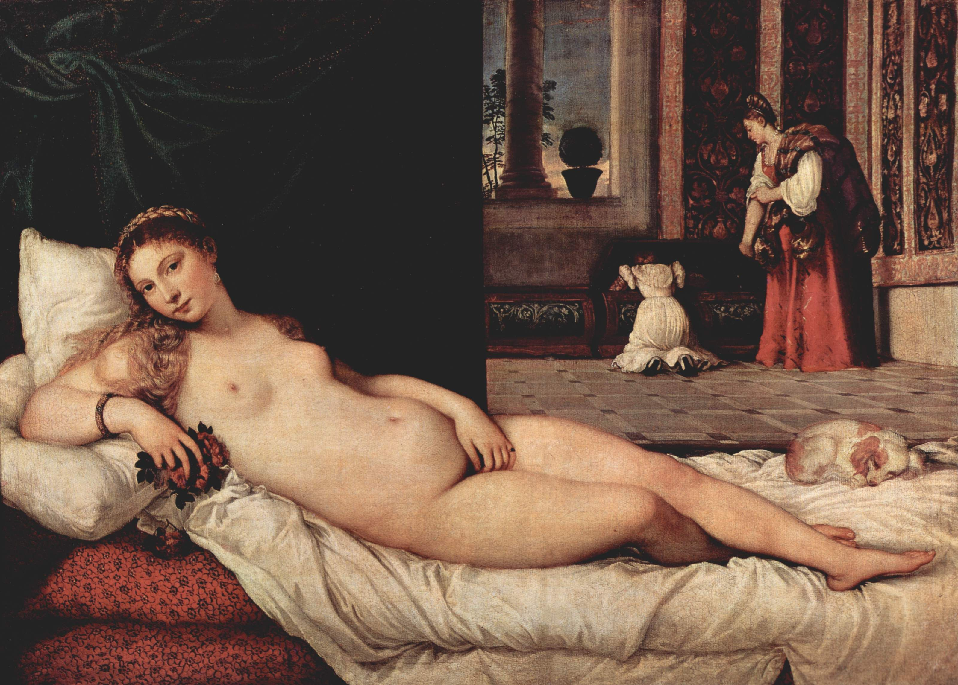 Renaissance painting three women nude all? not