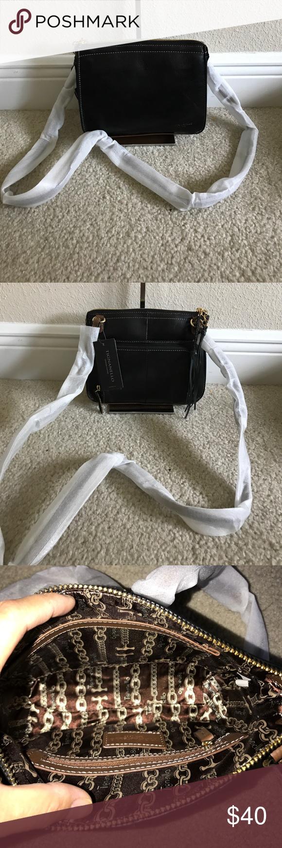 Tignanello Vintage Leather Crossbody Carson