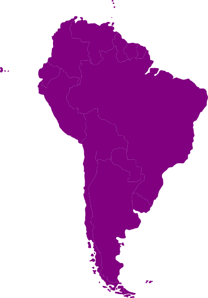 South America Continent Continent Of South America Clip Art Vector Clip Art Online Royalty South America Continent South America South America Map