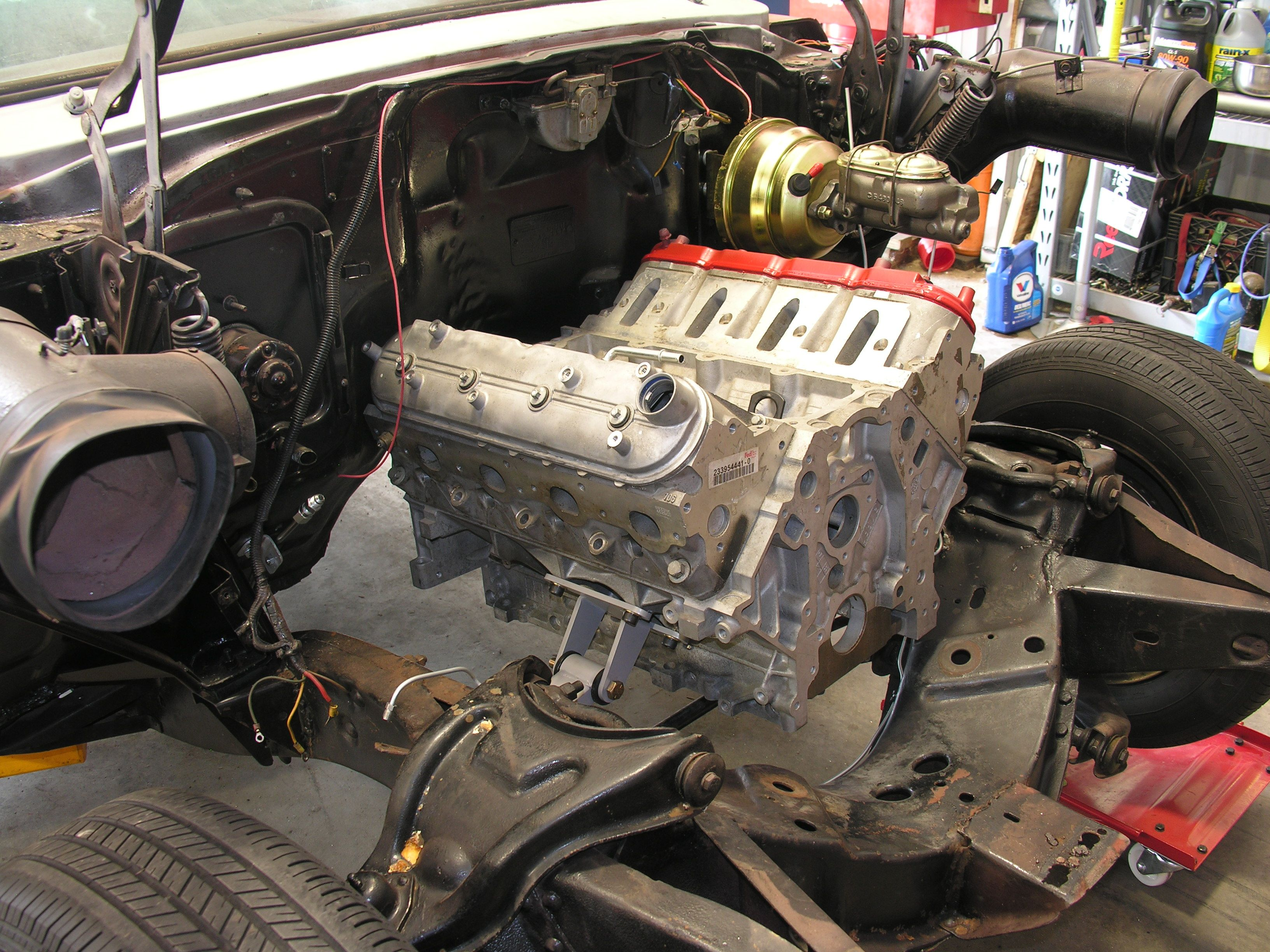 This Is A 1957 Chevy Bel Air That Southern Performance Systems Will Be Installing A Ls3 Engine With 6l80e 6 Speed A Chevy Bel Air 1957 Chevy Bel Air New Engine