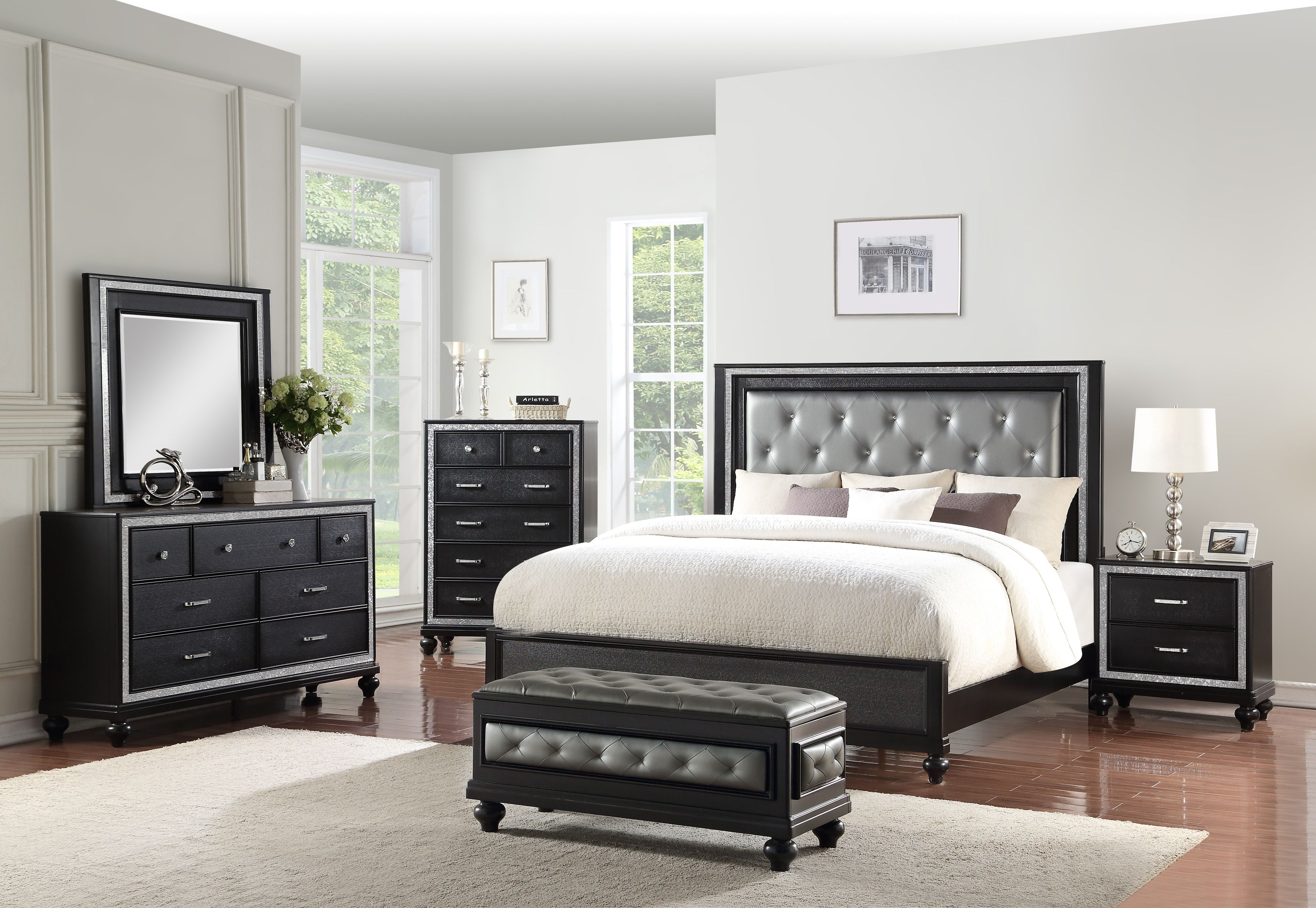 Pin By New Classic Furniture On Bedroom King Bedroom Sets Bedroom Sets Rooms To Go Bedroom