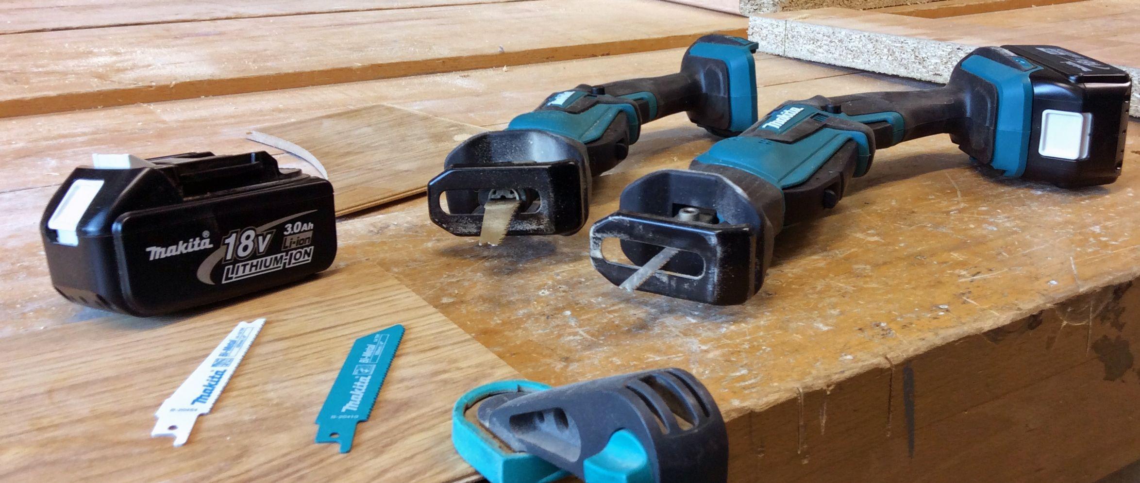 Makita DJR183 & DJR185 18v Cordless Recips Saws Toolstop