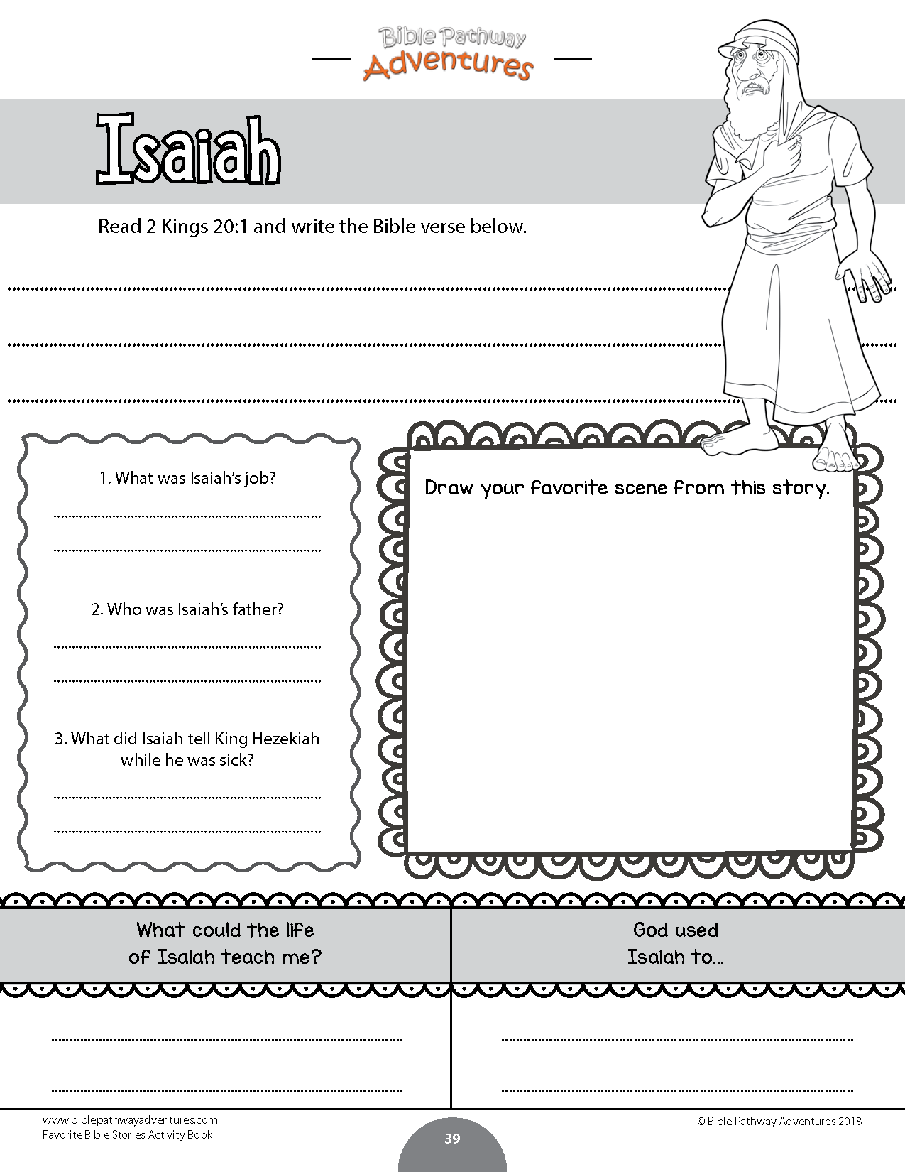 Favorite Bible Stories Coloring Activity Book