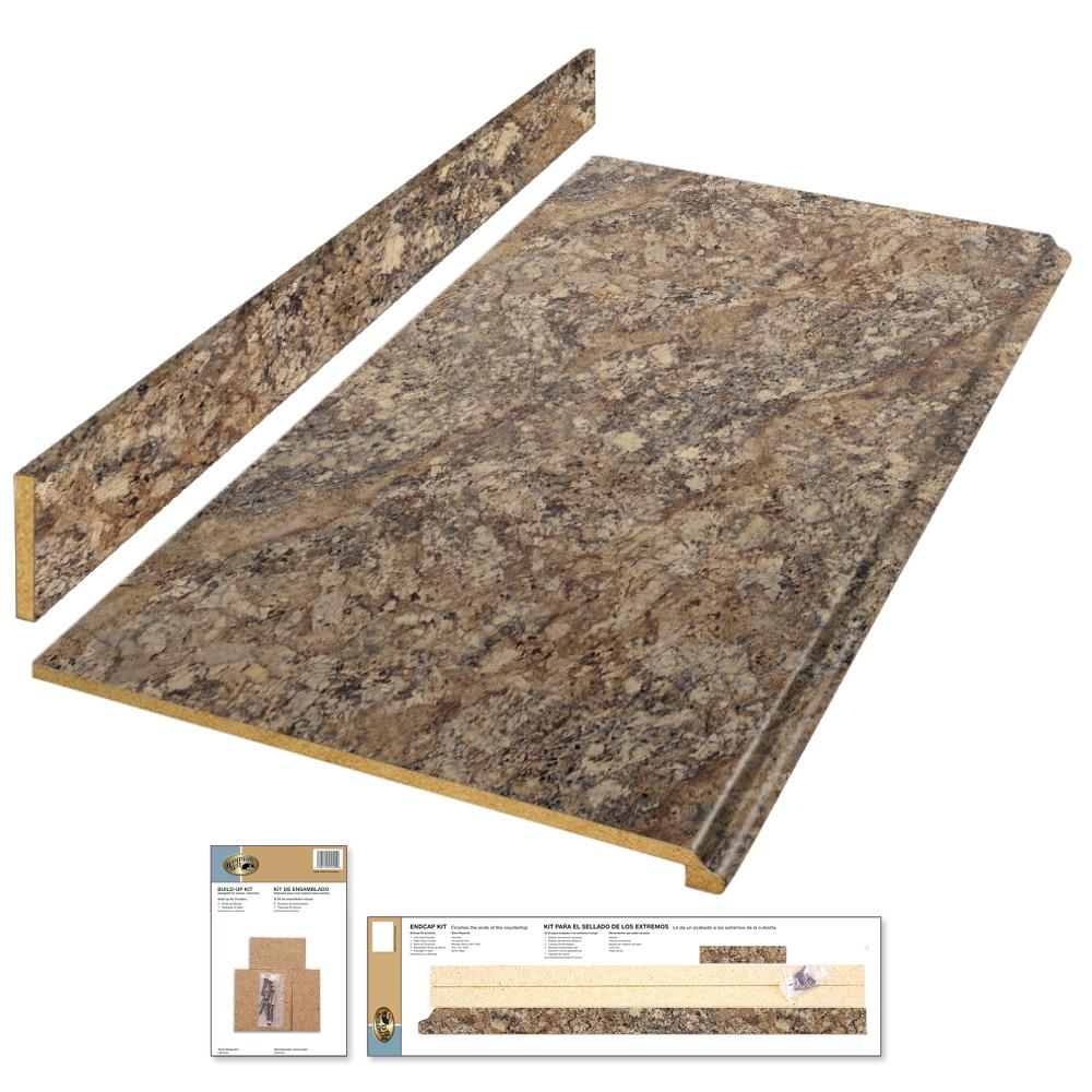 Hampton Bay 4 Ft Laminate Countertop Kit In Winter Carnival