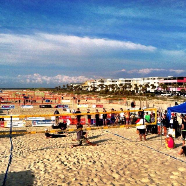 Beach Volleyball Tournament On Tybee Island Awesome Savannah Beach Ventura Beach Tybee Island