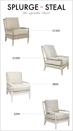 Splurge Vs Steal The Spindle Chair Spindle Chair