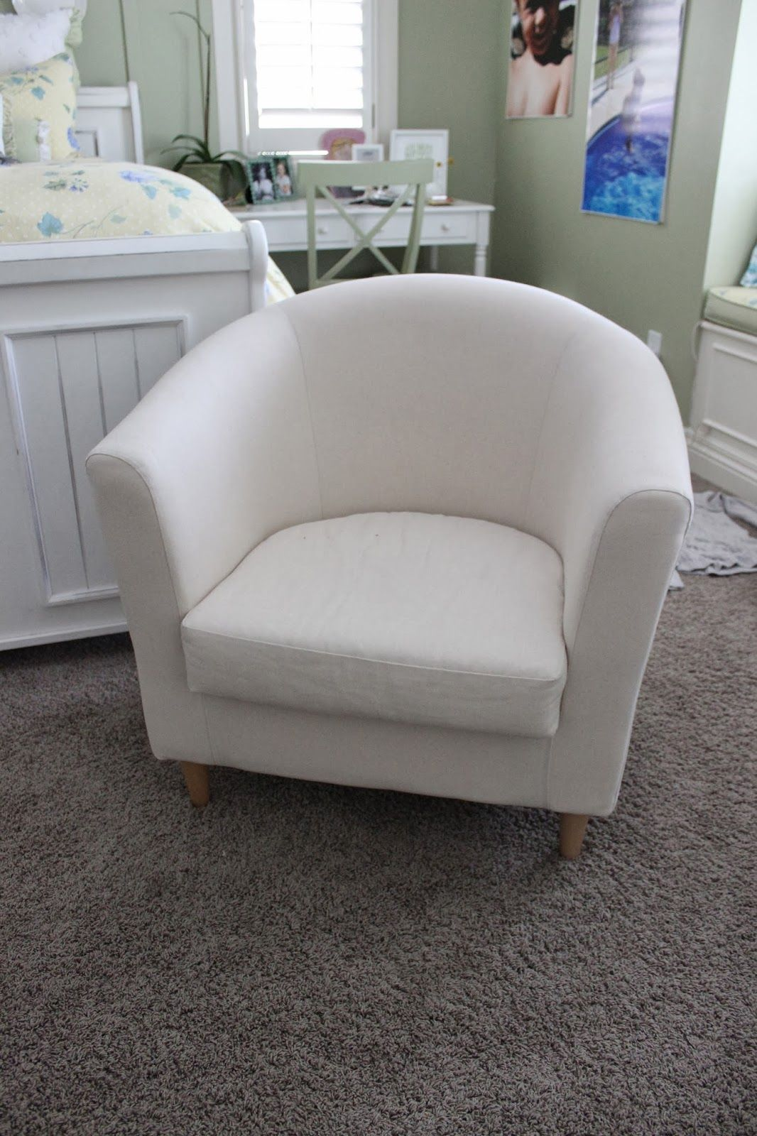 Drawing Of Simple Barrel Chair Slipcovers White Bedroom Armchair Small For