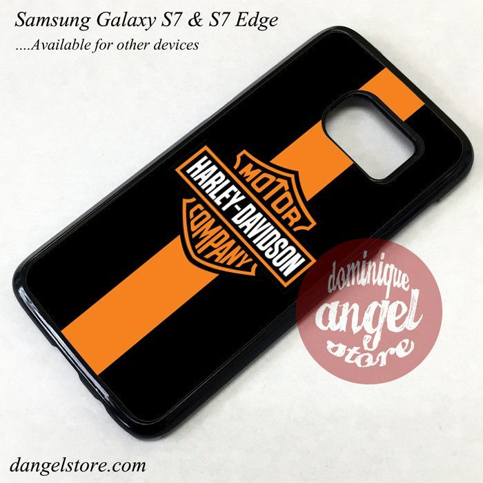 Harley Davidson Motor Company Phone Case for Samsung Galaxy S7 and Galaxy S7 Edge