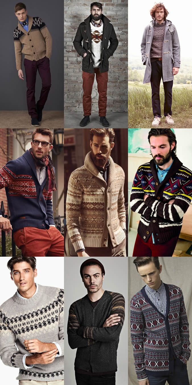 Its a Men's Knitwear kinda week