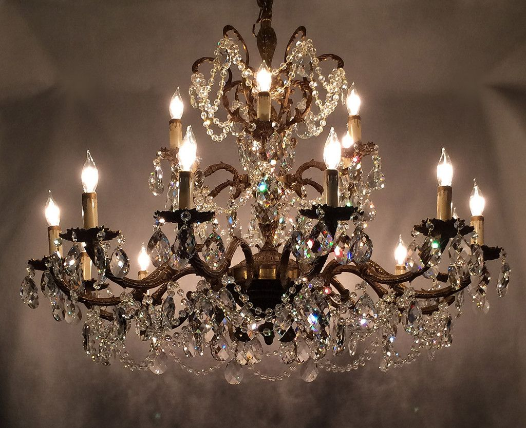 Learn Trade Secrets Restoring Old Antique Brass Chandeliers ...