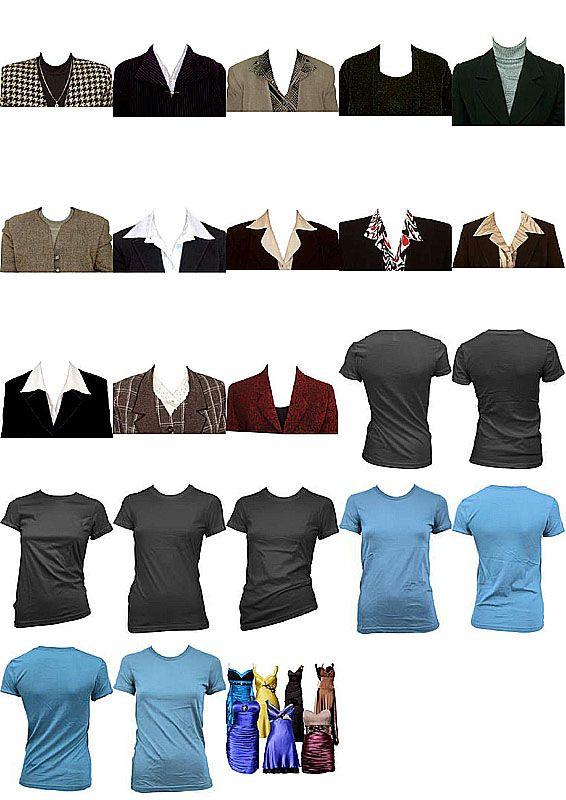 Скачать бесплатно шаблоны женской одежды для фотошопа